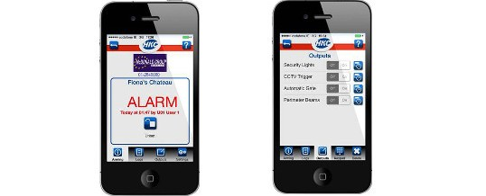 Why not try the New Smartphone APP to Control Your Alarm System or CCTV?