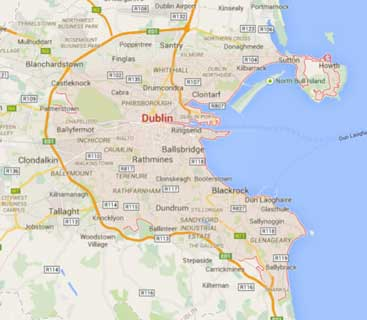 We Cover Dublin South & Dublin East