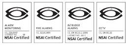 nsia alarms security dublin